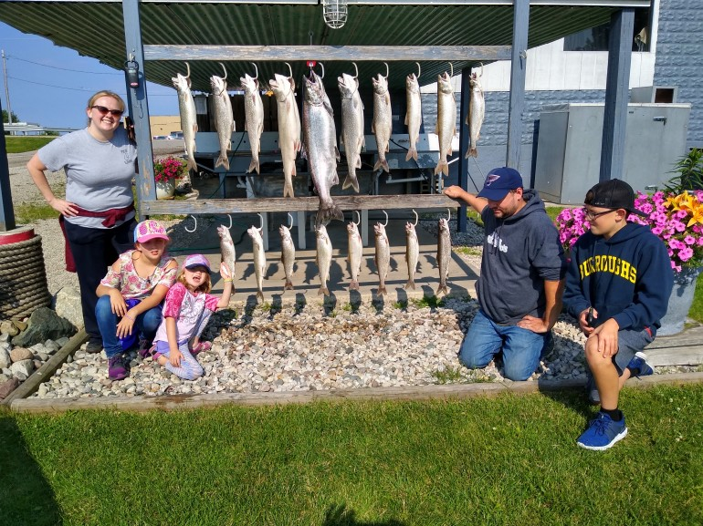 Ludington Salmon Fishing - Fishing Report